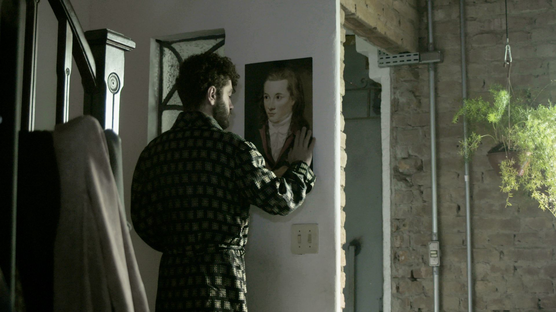 Marcelo, the protagonist of the documentary The Blue Flower Of Novalis