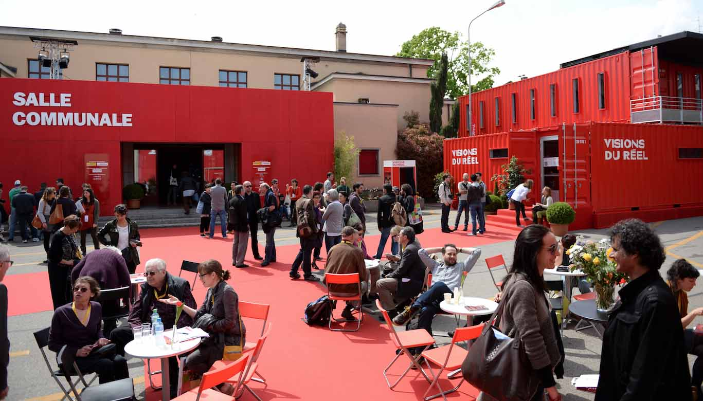 The venue of the Visions Du Reel film festival in Nyon