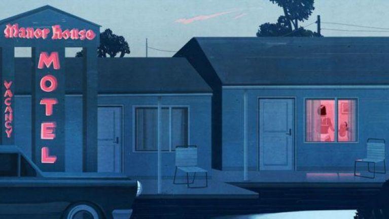 A roadside motel run by Gerald Foos in the documentary Voyeur