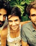 Joaquim Castro, Mariana Aydar, Eduardo Nazarian