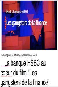 Les gangsters de la finance