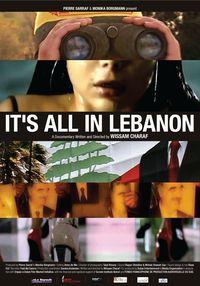 It's all in Lebanon